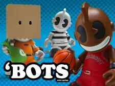 1 (One) Unopened Box 2011 Kidrobot 'Bots Mini Series *Random/Blind 'Bot*