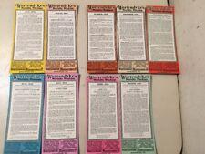 Lot Of 9 Wortendykes Mfg Co Advertising Blotters Richmond VA Illustrious Virg.
