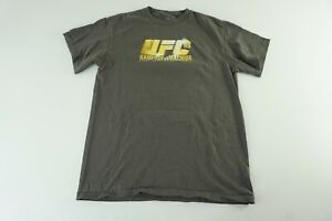 UFC 2010 Rampage and Machida Unisex Large Gray T Shirt