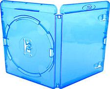 10 x Genuine Amaray Simple disque Retail Blu ray Bluray DVD 14 mm cas ~ Neuf ~