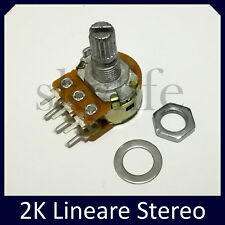 1st Class Post 100K ohm 24mm Lineare Potenziometro Resistore Variabile