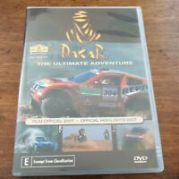 Dakar The Ultimate Adventure Official Highlights 2007 DVD R4 Like New! FREE POST