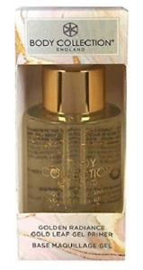 Body Collection Golden Radiance Gold Leaf Gel Primer 30ml - New & Boxed