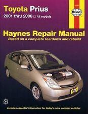 2001-2008 Haynes Toyota Prius Repair Manual