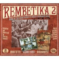 REMBETIKA 2 4 CD BOX-SET NEU