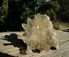 Clear+Quartz+Crystal+Cluster+Display+Specimen+Collected+from+Madagascar