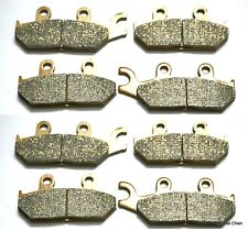 Front Rear Brake Pads For Yamaha YXM700 YXM 700 FI Viking 4x4 2014 Brakes 4 SETS