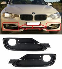BMW F30 F31 3 SERIES 2011-2015 SPORT FRONT LEFT + RIGHT LOWER FOG LIGHT GRILLS