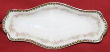 Antique Moritz Zdekauer Austria Floral Porcelain Sauce Boat Bowl