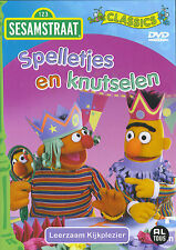 Sesamstraat : Spelletjes en Knutselen (DVD)