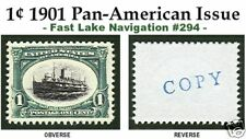 1901 PAN-AM EXPOSITION ISSUE U.S. #294 REPRODUCTION