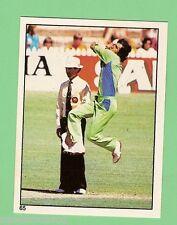 1982 SCANLENS CRICKET STICKER #65  IMRAN  KHAN, PAKISTAN
