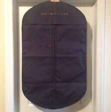 957732dc71a 100% Authentic Ralph Lauren Garment Bag Navy Blue With Gold Letters Brand  New !