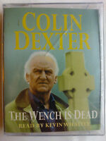 COLIN DEXTER.THE WENCH IS DEAD.KEVIN WHATELY.2 X TAPE ABRIDGED 3 HRS,NEW