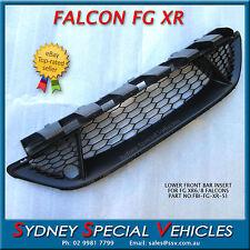 MESH GRILLE INSERT FOR FALCON FG XR6 XR8 FRONT BUMPER BAR PLASTIC NEW