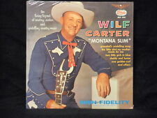 Wilf Carter Montana Slim Starday MONO LP Record SEALED VINTAGE OLD STOCK SEE