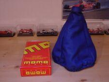 CUFFIA CAMBIO MOMO PELLE BLU FIAT PUNTO 2 SERIE 1999-2003