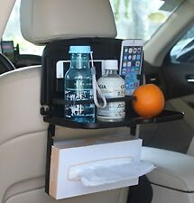Multipurpose Car Backseat Tray By Lebogner - Back Seat Auto Food And Drink Ta...