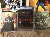 BATMAN: DAMNED #1A CGC 9.8 + 2B 3B Bermejo Lee 1st DC Black Label Uncensored