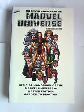 ESSENTIAL OFFICIAL HANDBOOK  MARVEL UNIVERSE  2 : GAROKK TO PROCTOR  (580 pages)