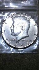 1969 D kennedy half dollar 40%