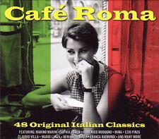 CAFE ROMA - 48 ORIGINAL ITALIAN CLASSICS NEW SEALED 2CD