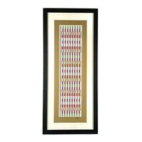 YAACOV AGAM Limited Edition 33/54 Serigraph on paper Hand Signed with COA LE