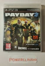 PAYDAY 2 ps3 ITALIANO ita NUOVO SIGILLATO PlayStation 3 PAY DAY stile gta5