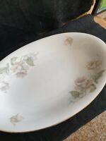 bohemia Czecho Slowakia Porzellan Teller Vintage plate porcelain blumen