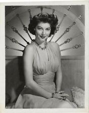 AVA GARDNER Breathtaking 1949 Studio Glamour Portrait Stamped Original Photo