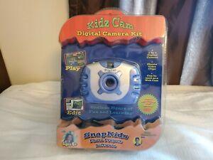 Kidz Cam Digital Camera Kit Blue New