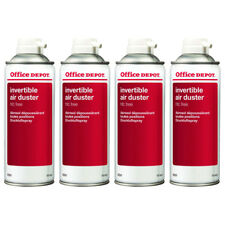 4-pack Compressed Air Duster Can Spray Cleans Computer Laptop Keyboard 400ml
