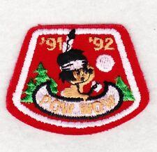 BSA new unused mint 1991,1992 POW WOW Cub Scout Leader event participation Patch