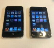"""A """"PAIR"""" IPod touches 2nd generation, 8GB, Silver nice screen Both Working"""