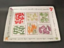 "17"" x 13""  Rectangular Serving Platter in City Market by Pfaltzgraff"