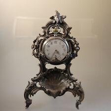 Taschenuhrenständer in üppiger Rokoko Ornamentik um 1860 (55985)