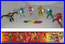 SET 6 Figure POWER RANGERS Mystic Force WIZARDS Gashapon BANDAI Super Sentai