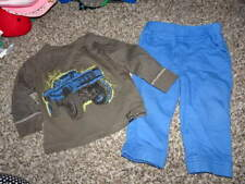 CHARLIE ROCKET 12M 12 MONTHS  MONSTER TRUCK SHIRT AND PANTS