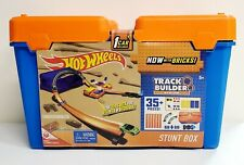 Hot Wheels Track Builder Stunt Box Race Vehicle Brick Curve Launcher Connector