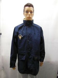 Vintage Event Used 2002 World Equestrian Games Team USA water proof jacket L