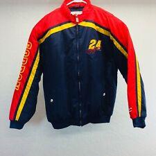 Jeff Gordon Nascar Nylon Jacket Size XL Chase Authentics Ball Jacket Zip Front