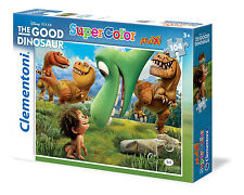 Clementoni Kinderpuzzle 104 Maxi Teile Arlo&Spot - The Good Dinosaur (23698)