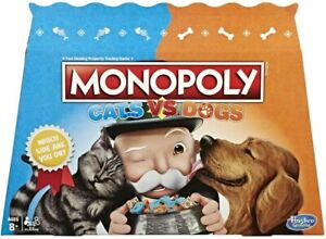 NEW Monopoly Cats Vs Dogs from Mr Toys
