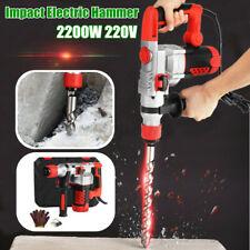 2200W Demolition 930r/min Rotary Jack Hammer Impact Drill Electric Hammer
