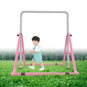 Gymnastics Horizital Bars Homeuse for Kids Junior Equipment Gym Kip Bar 129CM UK