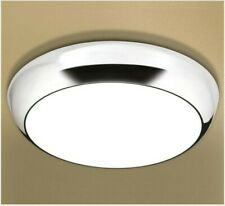 Bathroom light - HIB Kinetic - LED illuminated circular light with chrome detail