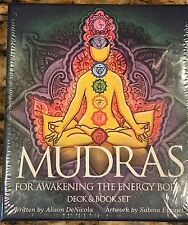 MUDRAS for awakening the Energy Body Deck and Book set NEW Sealed