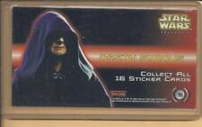 TOPPS WIDEVISION  STICKER INSERT STAR WARS EPISODE 1 no. S5 Darth 51010OUS