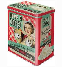Nostalgic Art 30123 Say It 50 S Have a Coffee Storage Tin L