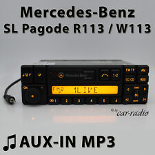 Mercedes Special BE1350 AUX-IN MP3 Klinke R113 Radio SL Pagode W113 RDS Kassette
